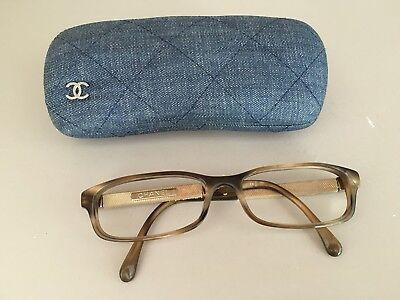 Monture lunettes de vue chanel + etui + facture