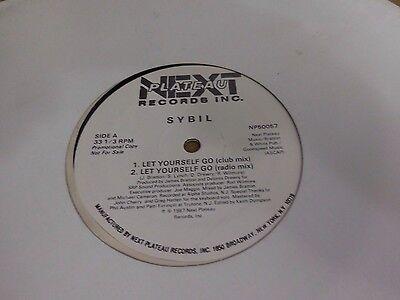 Sybil Let Yourself Go Next Plateau Wlp Promo Vinyl 12