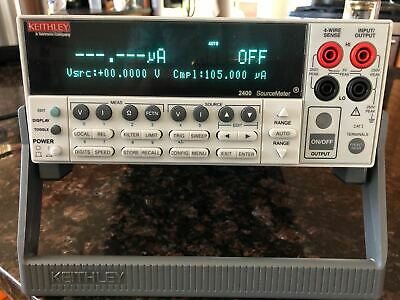Keithley 2400 Digital Sourcemeter Tested New Version 1a 200v 20w Smu