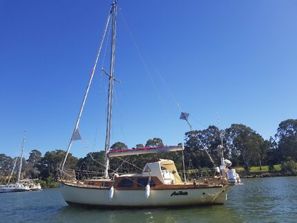 1980 Walker H28 Herreschoff Full Cabin 30 Foot Yacht