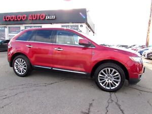 2011 Lincoln MKX AWD NAVIGATION PANORAMIC SUNROOF CERTIFIED 2YR