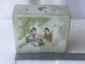 Antique Chinese Famille Rose Pillow