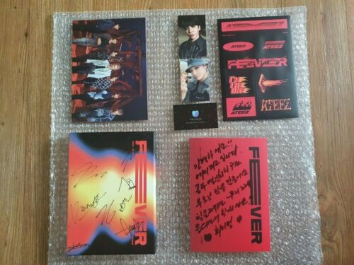 ATEEZ Fever Promo Album Autographed Hand Signed