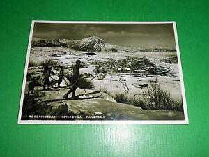 Cartolina-Roccadimezzo-L-039-Aquila-Panorama-1935