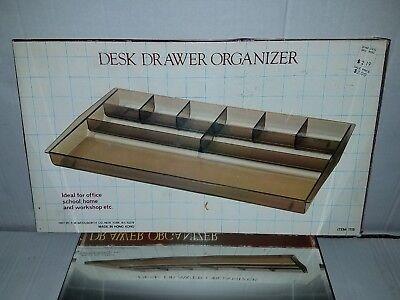 Vintage Desk Drawer Organizer In Original Box By F W Woolworth In Original Box