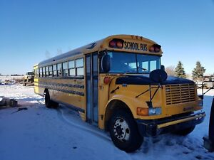 2004 school bus comes with inspection