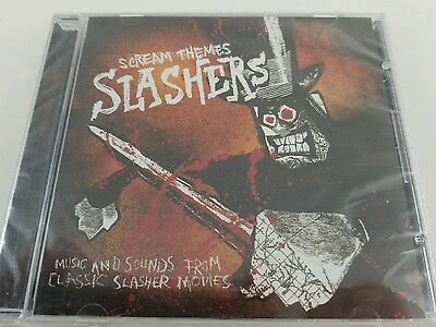 Scream Theme Slashers Music Classic Horror Movies Cd Halloween Psycho Hellraiser