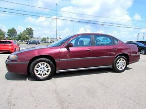 2002 Chevrolet Impala V6 Automatic AC Certified 2Yr Warranty