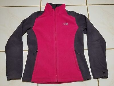 Pink Ladies Jackets Cheap (The North Face Flash Dry Full Zip Jacket Pink Gray Sz Medium, Normal Wear*)