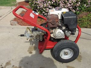 Wanted pressure washer running or not needed wanted