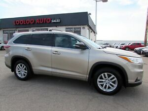 2014 Toyota Highlander LE AWD V6 BACK UP CAMERA CERTIFIED