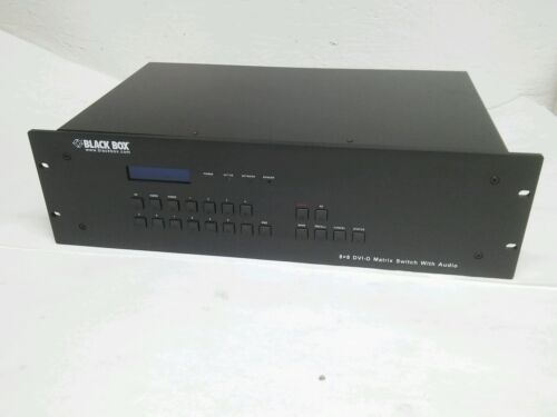 Matrix Switch AVSW-DVI8x8 with audio capabilities