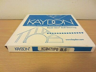 Kaydon Kc047xp0 Open Reali Slim Bearing Type X Four-point Contact