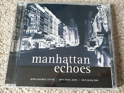 Audiophile Marquis EMI CD JAMES CAMPBELL GENE DINOVI Manhattan Echoes Dave Young