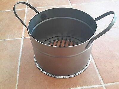 Pentola aggiuntiva Caldarroste castagne caliaturi caliatore barbecue caldarrosto