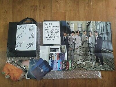 BTS BANGTAN BOYS Promo Be Deluxe Edition Album Autographed Hand Signed Full Set
