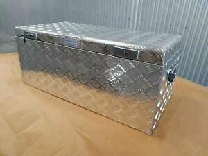 1000x500x420mm Aluminium Top Opening Toolbox truck tool Chest