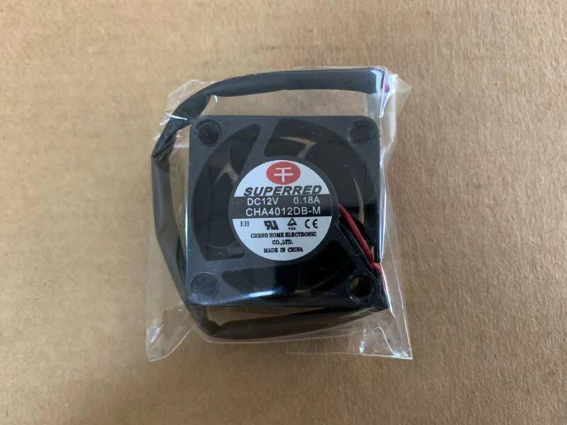 1pc Superred 4020 CHA4012DB-M fan 40*40*20mm 2pin 12V 0.18A #M3028 QL