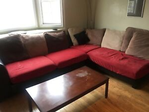 Futon, great for corner, in good condiction