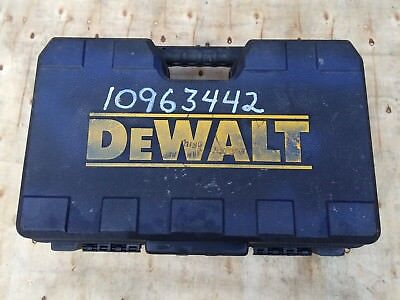 Dewalt Hammer Drill Case D25262k Kit Box Sds