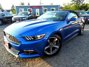 2017 Ford Mustang V6 Convertible/LIKE NEW/CERTIFIED