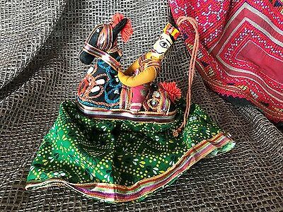 Old Turkish Horse and Rider Pin Cushion …beautiful collection and utilitarian it