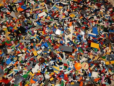 LEGO 2 POUNDS LBS BULK LOT ASST BRICKS PIECES COLORS PIRATES CARIBBEAN STAR WARS
