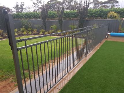 Woodland Pool Fence
