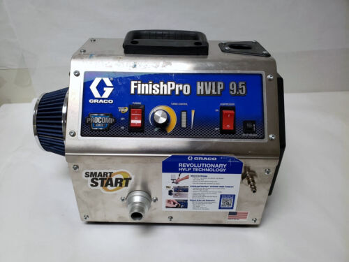 Graco Finish Pro 9.5 5 Stage HVLP Sprayer Pro Contractor Series - 05/L202716A