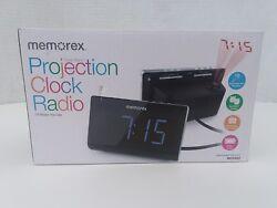 Memorex PROJECTION CLOCK RADIO • DUAL ALARM • 10 AM/FM Presets • BATTERY BACKUP