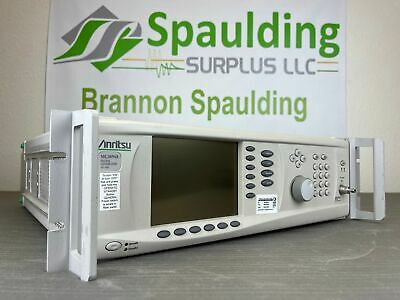 Anritsu Mg3694a 40 Ghz Cw Synthesized Signal Generator W Option 03 - Calibrated