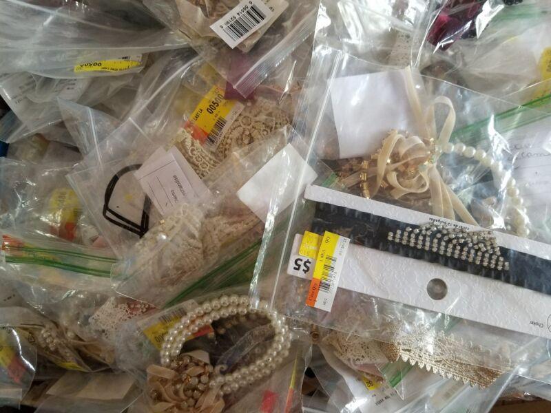 30 lbs Case Broken Junk Jewelry Lot Store Returns Closeouts