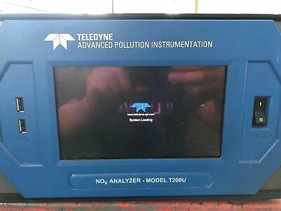 Teledyne Api T200u Trace-level Chemiluminescence Nono2nox Analyzer Used