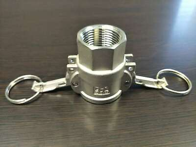 3 D 316 Stainless Steel Female Cam Lock X Female Thread Npt