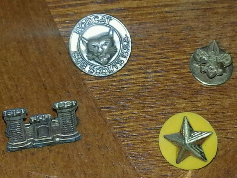 Vintage BSA boy scouts pins etc. lot  D