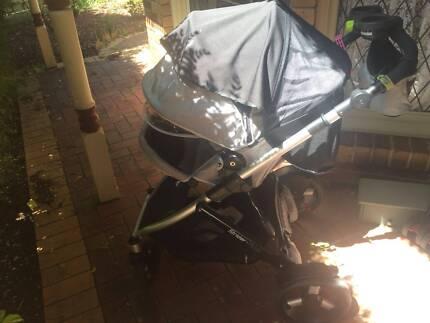 Used baby pram/stroller 4 wheels Strider Plus for sale