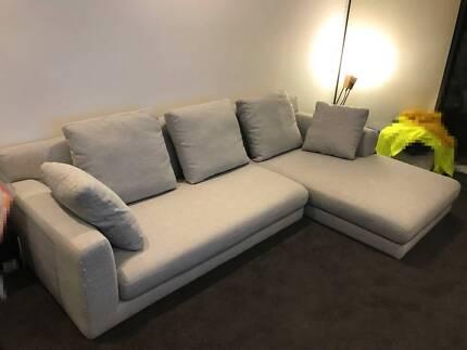 Bargain! Freedom Fabric Modular Sofa Paid $2300+ offers welcome