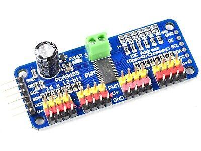 16-channel 12-bit Pwm Servo Driver I2c Interface Pca9685 - Arduino Compatible