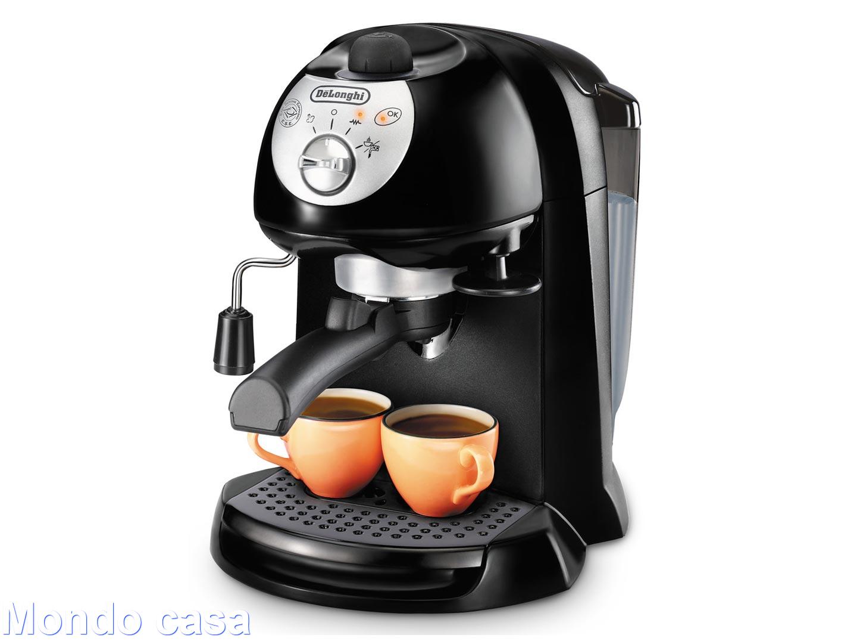 DE LONGHI Macchina da Caffè EC201CD.B per Espresso Cialde Polvere Cappuccino
