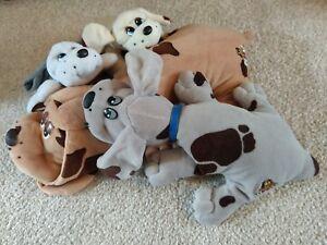 ⭐Vintage & Retro⭐ Pound Puppy bundle (1 barking sounds) rare toy 80s *FREE P&P*