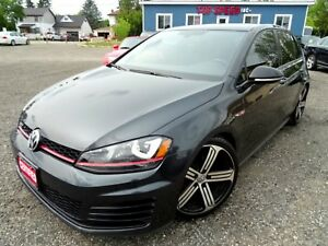 2017 Volkswagen Golf GTI GORGEOUS/NAVI/SUNROOF/BACK-UP/CERTIFIED