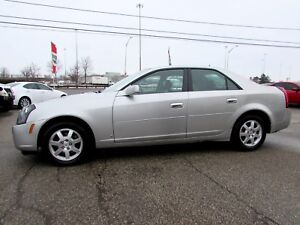 2007 Cadillac CTS 3.6L SEDAN LEATHER AUTOMATIC ALLOYS CERTIFIED