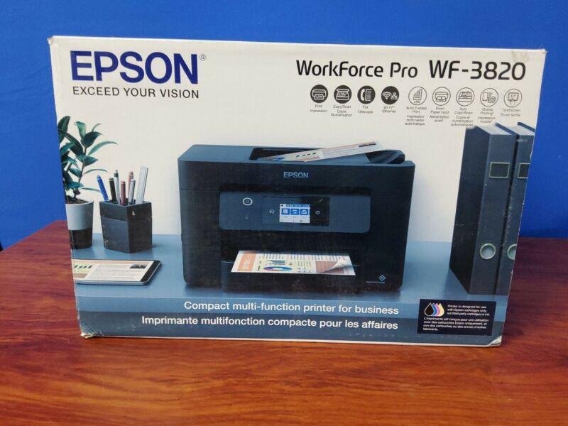 Epson Workforce Pro WF-3820 Wireless color Inkjet All-in-One Printer  (G0)