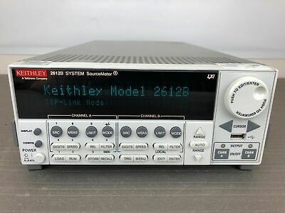 Keithley 2612b Dual Channel Sourcemeter Smu 200v10a200w100fa - Calibrated