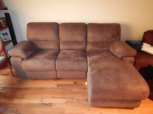 Suede Couch Eden Hill Bassendean Area Preview