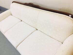 Lovely white Sofa and chair for sale