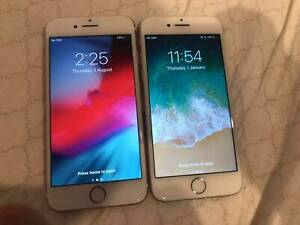iPhone 7 Silver & Rose Gold 256 GB Very Good Condition Battery 100%