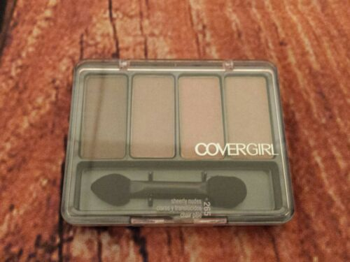 COVERGIRL Eye Enhancers 4-Kit Eye Shadow Sheerly Nudes, .19