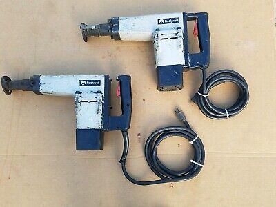 Qty 2 Rockwell Delta 603 Demolition Hammers Chipping Breaker Demo Jack Usa