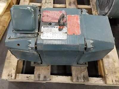 Reliance Dc1810aty 2 Hp Dc Electric Motor 1750 Rpm T18r11030-xl 3456sr